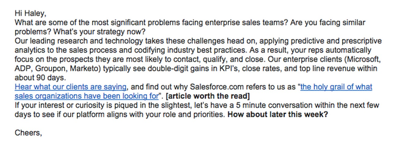 predictable revenue Archives - Salesfolk