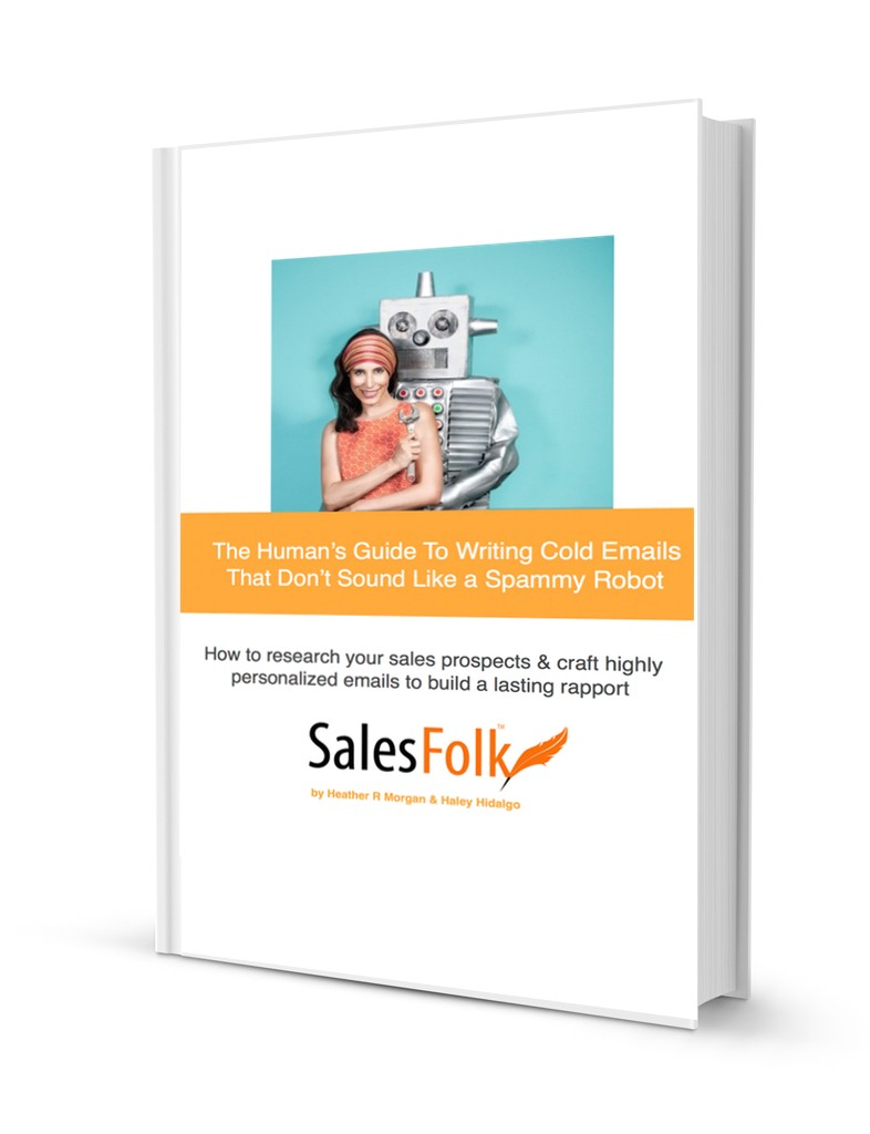 Salesfolk book guide cover human